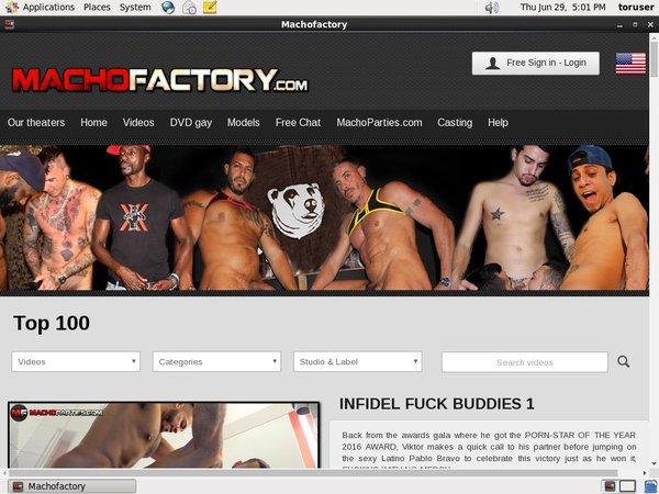 Promo Machofactory.com Free Trial