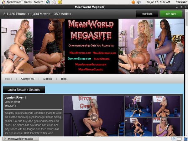 Free Mean World MegaSite Password