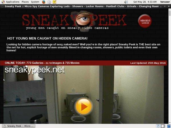 Porn Sneaky Peek