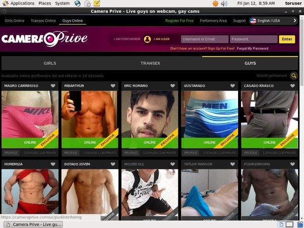 Camera Prive Gay Promo Trial