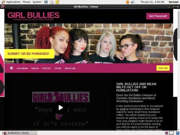 Free Girl Bullies Premium Passwords