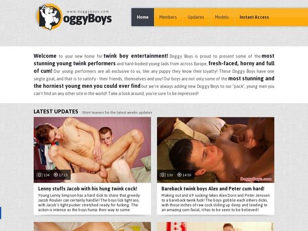 Doggy Boys Password