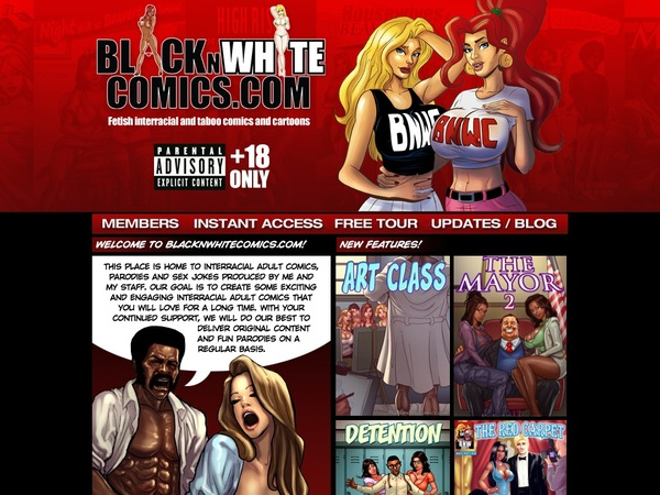 Blacknwhitecomics Movie