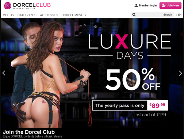 Promo Code Dorcelclub