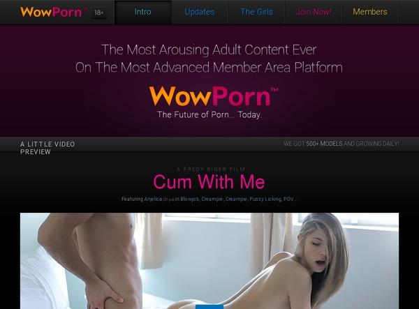 Wow Porn Trial Access