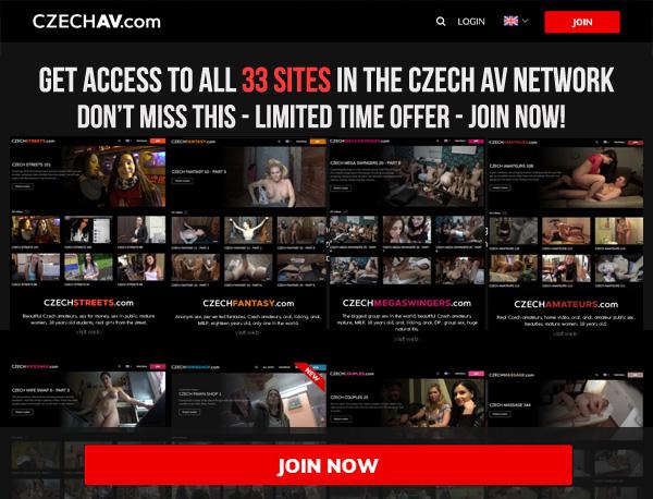 Czechav.com Payment Page