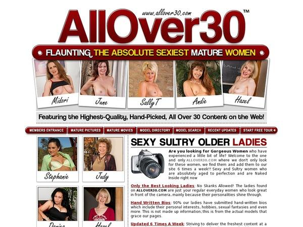 All Over 30 Original Trial Option