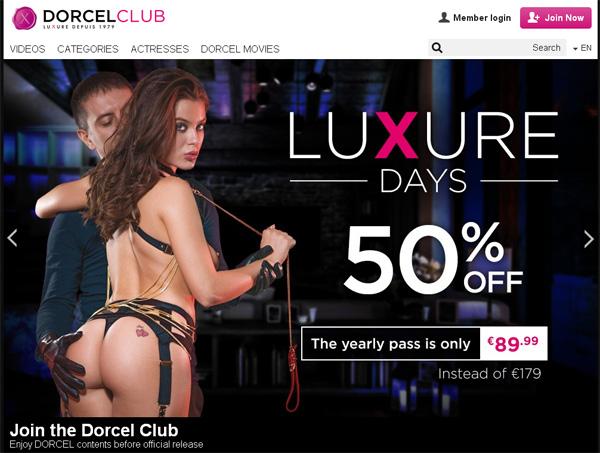 Dorcelclub.com Sign