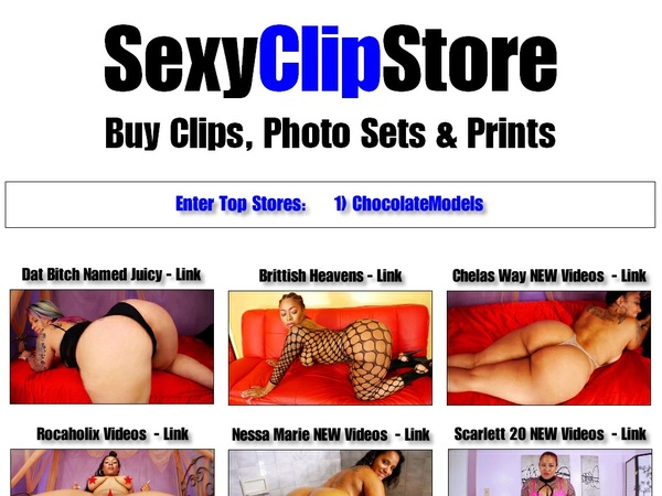Sexy Clip Store With IBAN / BIC Code